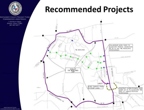New Traffic Study recommends The Woodlands Loop